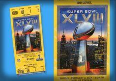 Super Bowl Ticket Designs Super Bowl Tickets, Ticket Design, Commercial Art, Zine, Nfl, Facts, Nfl Football