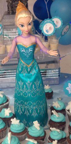 Cupcakes Elsa - Frozen