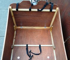 Bullitt- cargo bike box construction