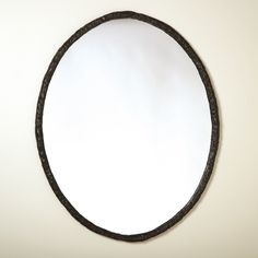 Berger Mirror Oval Mirror, Metal Casting, Beautiful Space, It Cast, Guest Room, Iron, Unique, Wall, Furniture