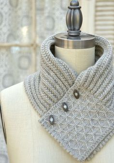 This ascot-style scarf is a quick knit and just the ticket to take the fall chill off. This scarf looks great under a trench coat or v-neck. The Quilted Lattice stitch pattern is easy to master, using a clever combination of slipped stitches. Scarf shown in photo uses just 1 skein of Cascade...