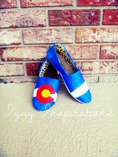 Colorado Flag Womens and Girls Canvas Shoes by IzzyInspirations, $20.00 Moving To Colorado, Denver Colorado, Girly Stuff, Girly Things, Colorado Clothing, Shoe Designs, New Wardrobe, Festival Outfits, Concerts