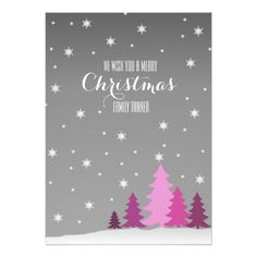 We wish you a merry Christmas Card with Trees. Cute Christmas Card with pink trees Christmas Poems For Cards, Christmas Ecards, Printable Christmas Cards, Merry Christmas Card, Christmas Fun, Holiday Cards, Pink Trees, Paper Texture, Card Ideas