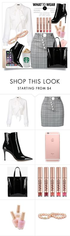 """What to Wear: Ask Yourself One Question... Do I Feel Good?"" by helenaymangual ❤ liked on Polyvore featuring Plein Sud, Alexander Wang, Gianvito Rossi, Balenciaga and Urban Decay"