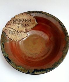 Love ours!   By Humming Mud Pottery