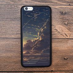 Open Field Land Above The Sky Sunset Case For IPhone