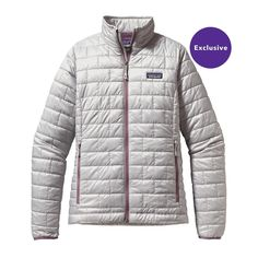 The Patagonia Women's Nano Puff® Jacket is windproof, water-resistant, warm, and incredibly lightweight. Made with PrimaLoft® Gold insulation.