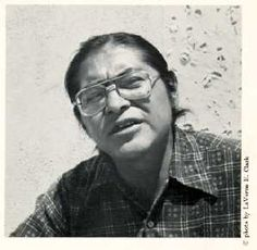 "Simon J. Ortiz (b. May 27, 1941) is a Native American writer of the Acoma Pueblo tribe, and one of the key figures in the second wave of what has been called the Native American Renaissance. He is one of the most respected and widely read Native American poets. ""Fight Back: For the Sake of the People, for the Sake of the Land."" is one of his best known works. He currently teaches creative writing and Native American literature at Arizona State University."