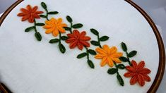Grand Sewing Embroidery Designs At Home Ideas. Beauteous Finished Sewing Embroidery Designs At Home Ideas. Hand Embroidery Patterns Free, Hand Embroidery Videos, Embroidery Stitches Tutorial, Hand Embroidery Flowers, Hand Work Embroidery, Types Of Embroidery, Learn Embroidery, Embroidery Techniques, Ribbon Embroidery