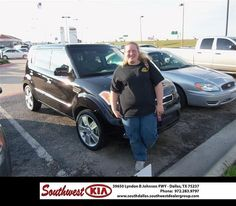 Southwest Kia of Dallas would like to wish a Happy Birthday to Jerry Hodges!