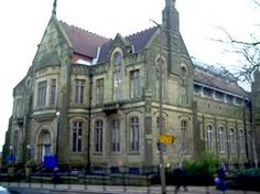 Oldhame, England library