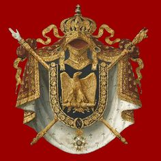 Histoire du Second Empire (1852-1870) First French Empire, Second Empire, Royal Navy Officer, Saint Louis, Family Crest, Crests, Coat Of Arms, Figure Painting, Architecture Art