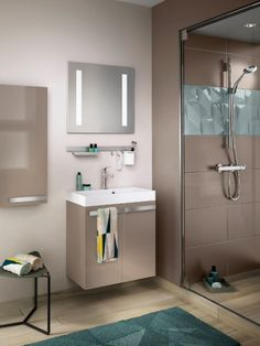 une salle de bains de 3 m2 dix possibilits damnagement - Une Salle De Bain Est Equipee Dune Vasque