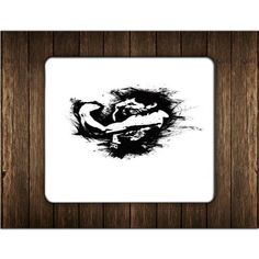 MANNY PACQUIAO ART BLACK MOUSE PADS