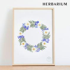 Art Floral, Deco Floral, Flower Crafts, Diy Flowers, Press Flowers, Fleurs Diy, Small Canvas Art, Dry Plants, Cute Paintings