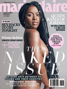 FOW 24 NEWS: 19 South African Stars pose Nude for a Good Cause ...