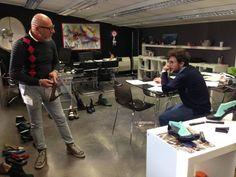 Roberto e Riccardo Badon  #derobert #madeinitaly #shoes #tradizioni #artigiani #calzarevalore #assocalzaturifici #veneto