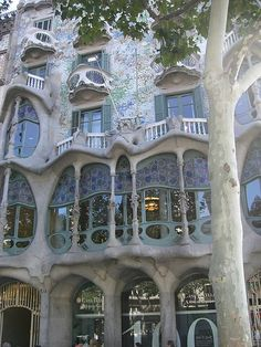 Casa Batillo by antoni Gaudi. I have had the opportunity of walking through this building. It is truly inspiring.