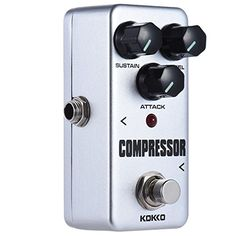 ammoon KOKKO FCP2 Mini Compressor Pedal Portable Guitar Effect Pedal ** Be sure to check out this awesome product.Note:It is affiliate link to Amazon.