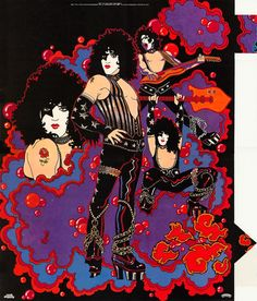 Original Solo Album Posters in Klassic KISS Forum