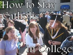 How to Stay Catholic in College - Held By His Pierced Hands - Can't wait to share this with my college bound girl. Looking For Friends, Find Friends, Philosophy Major, Catholic Colleges, Get Educated, Find Someone Who, Screwed Up, College Girls, Family Life