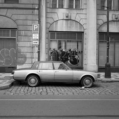 Gangsta     #b&w #blackandwhite #noiretblanc #bnw #noir #noiretblancs #noiretblance #monoart  #bnw_captures #bnw_society #streetphotography_bw #monotone #monochrome #lensculture  #instadaily #instablackandwhite #insta_pick_bw #insta_bw #bw_photooftheday #bw_crew  #praha #prague #car #gangsta #voiture #gris #grey #street #streetphotography #streetphoto #streetphotography_bw