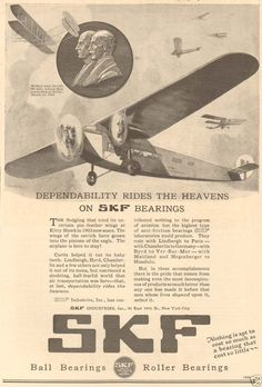 http://www.ebay.ie/itm/Antique-SKF-Ball-Bearings-AIRPLANE-Wright-Brothers-Aircraft-AVIATION-Pilot-Ad-/351424011299?hash=item51d280dc23