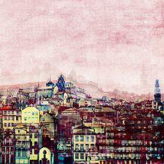 Porto Ribeira fine art print by Ingrid Beddoes - Ingz Redbubble