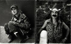 Zhou Mi - Polaroid portraits. Faces from the streets of San Francisco.