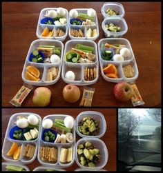 lunchy lay out! Easy Paleo lunches and snacks for our whole family. Click over for all the details!