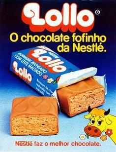 chocolates nestle anos 80 - Pesquisa Google