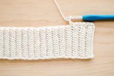 Half Double Crochet, Single Crochet, Crochet Cardigan Pattern, Crochet Patterns, Crochet Hooks, Free Crochet, Linen Stitch, Moss Stitch, Modern Crochet