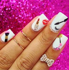 Opting for bright colours or intricate nail art isn't a must anymore. This year, nude nail designs are becoming a trend. Here are some nude nail designs. Get Nails, Love Nails, How To Do Nails, Hair And Nails, Fabulous Nails, Gorgeous Nails, Pretty Nails, Uñas Fashion, Nail Swag