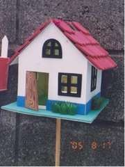 Faroles!!!! taller de manualidades karol - San José, Costa ... Arts And Crafts Projects, Crafts To Do, Costa Rica, Rural House, Paper Mache Sculpture, Country Crafts, Recycled Crafts, Diy Paper, Bird Houses