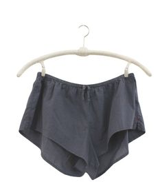 Cotton Poplin Carbon Charcoal Shaya Short
