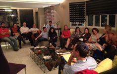CJL e WUPJ reúnem seus  jovens para discutir sobre Identidade Judaica. O palestrante foi o rabino Rogerio Cukierman, especialista em Educação Judaica.