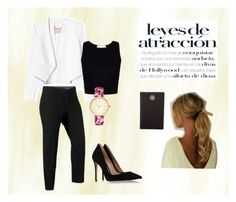 """""""OUTFIT PARA EXPOSICIONES"""" by tatianadenisse on Polyvore featuring Rebecca Taylor, Violeta by Mango, Gianvito Rossi, Tory Burch y Chicas Fashion"""