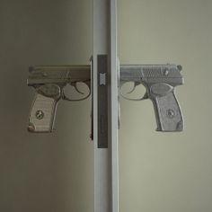Haven't seen these doorknobs, but aren't they fun?
