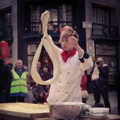 Culinary demonstrations were not left out of the event at The World on Regent Street. Shirt Dress, Street, Dresses, Fashion, Vestidos, Moda, Shirtdress, Fashion Styles, Dress