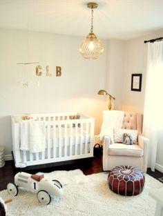 Rustic and Contemporary Nursery by Melissa@LivingBeautifullyDIY