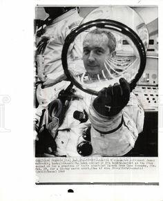 Astronomy - Astronauts: Rare photo of Apollo 1 Command ...