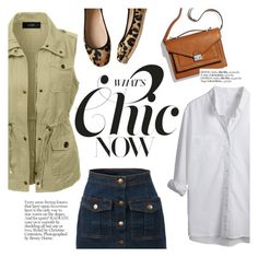 """""""What's chic now"""" by punnky ❤ liked on Polyvore featuring LE3NO, Kate Spade and Loeffler Randall"""