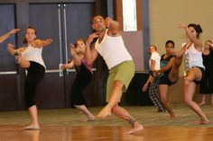 To teach contemporary dance and to choreograph again...
