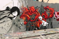 Japan girl by Resh by Man - Art is Life, via Flickr