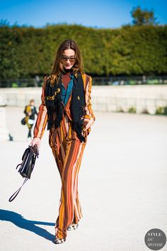 Paris Fashion Week SS 2016 Street Style: Ece Sukan