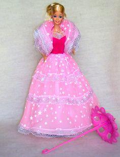 Dream Glow Barbie. I remember how her dress glowed in the dark, I had the Ken too. :)