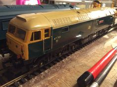 47 701 'St Andrew' with lights in BR blue by Hornby Acquired from evilBay on 18/01/16