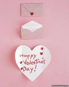 biglietto san valentino cuore bustina
