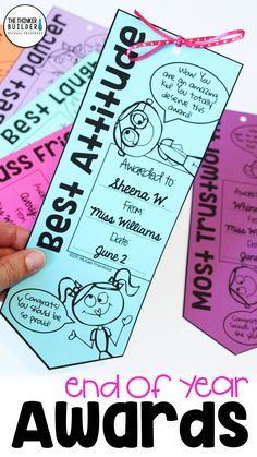 End of year awards for your students, like these fun ribbons, make the end of the year memorable for your class. Tons of tips, ideas, and resources in this blog post.
