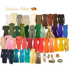 Autumn Palette by manuela-ariecha-amorim on Polyvore featuring moda, Iris & Ink, Moschino, Hervé Léger, Alexandre Vauthier, Lisa Marie Fernandez, Narciso Rodriguez, L.K.Bennett, Emilia Wickstead and MISA Los Angeles
